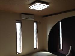 和室の床の間です。琉球畳を使用